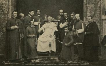 Pope_Pius_IX_surrounded_by_clerics